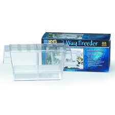 3-Way Breeder Aquarium Tank