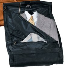 Carry-On Top Grain Leather Suiter Garment Bag