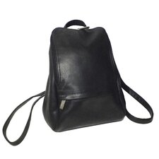 "Genuine Leather Vaquetta 10"" Adjustable Backpack"