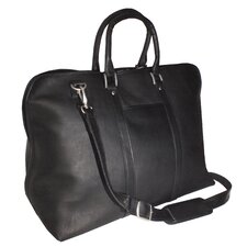 Genuine Leather Vaquetta Lightweight Carryon 25 Inch Duffel Bag
