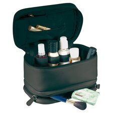 Royce Leather 'Victoria' Cosmetic Travel Bag