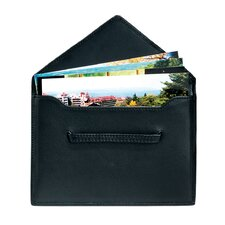 Royce Leather Envelope Photo Holder Picture Organizer Sleeve in Genuine Leather