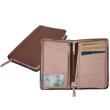 <strong>Royce Leather</strong> Passport Travel Wallet