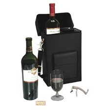 <strong>Royce Leather</strong> Connoisseur Wine Carrier