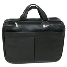 <strong>Royce Leather</strong> Laptop Briefcase