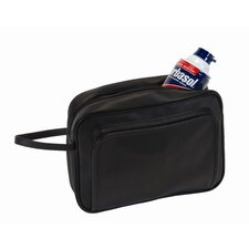 Executive Travel Grooming Wash Bag with Stainless Steel Implements