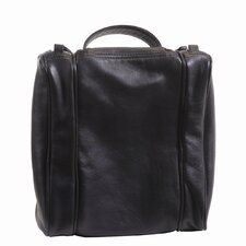 Genuine Leather Toiletry Travel Wash Bag