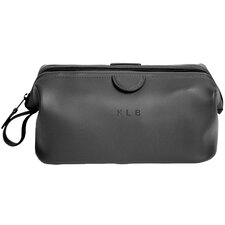 Royce Leather Executive Toiletry Travel Grooming Bag in Genuine Leather
