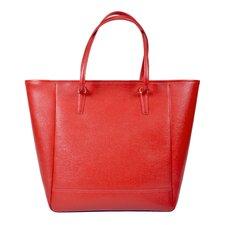 Charlotte Saffiano Tote Bag
