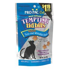 Tempting Tidbits Fish/Tuna Flavor CatTreat