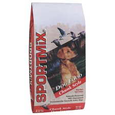 Chunk Style Dry Dog Food