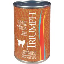 Canned Chicken/Liver Cat Food (13-oz, case of 12)