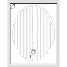 Oval Mirror Defogger