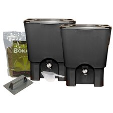 5 Gal Kitchen Composter Double Kit