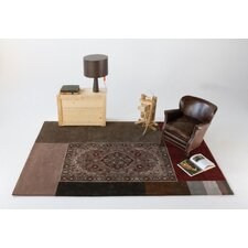 Extended Brown Area Rug