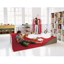 Flying Carpet Red Area Rug