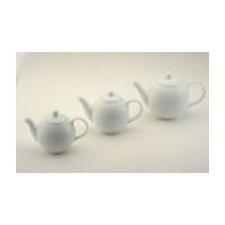 """Teekanne Orbit """"BIA"""" in Weiß aus Porzellan"""