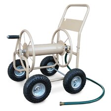 Industrial 4 Wheel Hose Reel Cart