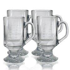 10 oz. Footed Mug (Set of 4)