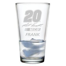 Nascar Individual 16 oz. Mixing Glass, Joey Logoano with personalization
