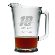 Nascar Individual 60 oz. Pitcher, Kyle Busch with personalization