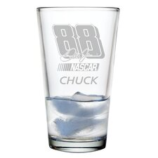 Nascar Individual 16 oz. Mixing Glass, Dale Earnhardt Jr with personalization