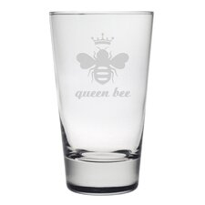 Queen Bee Hiball Glass (Set of 4)