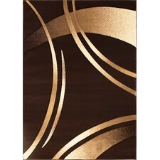 <strong>Segma Inc.</strong> Reflections Dark Brown Rug