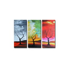 Radiance Alyxia Canvas Art (Set of 3)