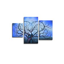 <strong>Segma Inc.</strong> Radiance Macluba Canvas Art (Set of 3)