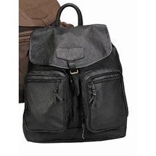<strong>Goodhope Bags</strong> Leather Backpack