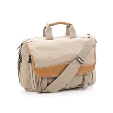 Canyon Expandable Canvas Zipper Canvas Briefcase