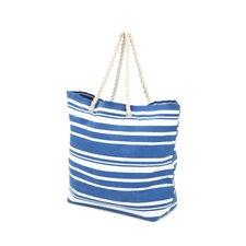 Stripe Shopping Tote (Set of 2)