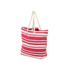 Stripe Shopping Tote