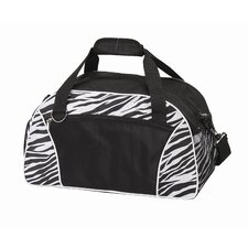 "Zebra 10"" Duffel Bag"