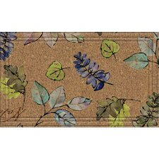 Naturelles Natural Leaves Doormat