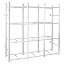 "12 Tote Storage System 69"" H 4 Shelf Shelving Unit"