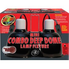 Combo Deep Dome Lamp Fixture