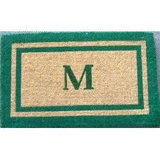 Imperial Double Monogram Golden Doormat
