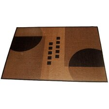 Geometrix Beige Indoor/Outdoor Rug
