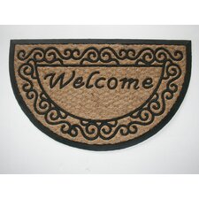 <strong>Geo Crafts, Inc</strong> Tuffcor Panama Scroll Welcome Mat