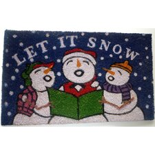 <strong>Geo Crafts, Inc</strong> Snowmen Mat