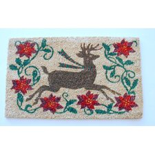 <strong>Geo Crafts, Inc</strong> Reindeer Doormat