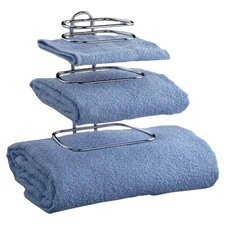 Wall Mounted Two Guest Towel Rack