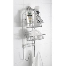 <strong>Taymor Industries Inc.</strong> Deluxe Adjustable Shower Caddy with Extra Deep