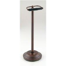 Freestanding Pedestal Toilet Paper Holder