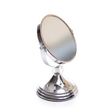 Mini Glamour Mirror with Acrylic Ball Finial