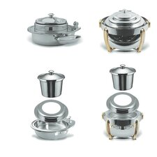 Medium Round Stainless Steel Soup Station Kit