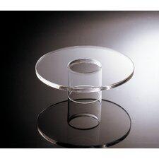 Acrylic Round Platform Dish Stand