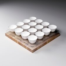 Plexi Treasure Stand Set with Bowls